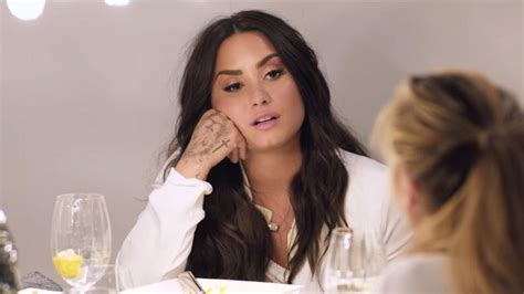 Demi Lovato opens up about the first time she did cocaine