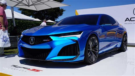 Acura Type S Concept, NSX Indy Yellow Pearl Dazzle At