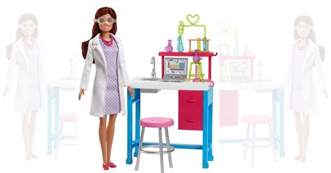Amazon: Barbie Science Lab Playset only $8