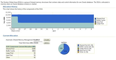 Oracle Automatic Shared Memory Management (ASMM)