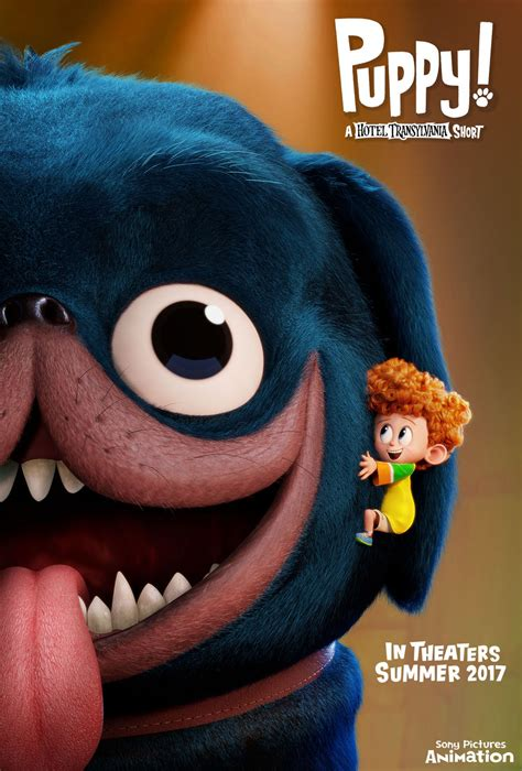 Sony Pictures Animation Reveals 'Puppy!' Poster
