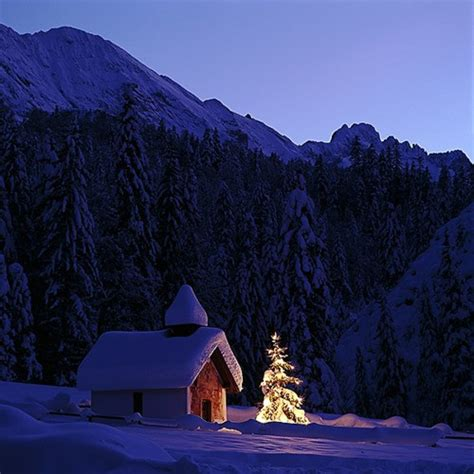 Christmas in the Bavarian Alps, Germany photo on Sunsurfer