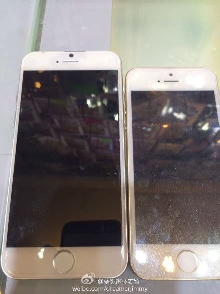 More pictures of the iPhone 6's front and back appear